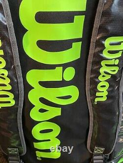 4 Wilson blade Rackets 98 18x20 4 3/8 and Extra Large Tour bag
