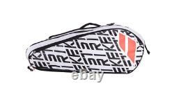 Abolat Pure Strike x12 Racquet Holder Tennis Bag Red and White