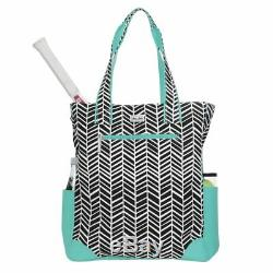 Ame & Lulu Emerson Tilly Tennis Tote Racquet Racket Bag Authorized Dealer