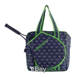 Ame & Lulu Icon Tennis Bag Victor Tennis Racquet Racket Bag Auth Dealer