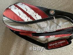 BABOLAT LIMITED EDITION FRENCH OPEN ROLAND GARROS TENNIS BAG 6 rackets