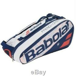 BAGS BABOLAT PURE 2018 FRENCH OPEN 6 RACKET BAG TENNIS gently wear condition