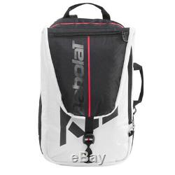 Babolat 2020 Pure Strike Tennis Backpack White Red Racket Racquet Bag NWT 753201