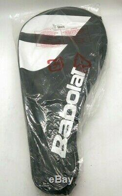 Babolat Boost Strike Tennis Racquet with Bag-White/Red