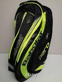 Babolat Pure Aero Backpack Racquet Bag (Black and Yellow) FAST SHIPPING