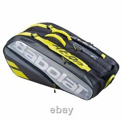 Babolat Pure Aero VS 9 Pack Racquet Bag (Bl/Gr/Yellow) Auth Dealer with Warranty