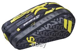 Babolat Pure Aero VS 9 Pack Racquet Bag (Black/Yellow) Auth Dealer with Warranty