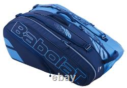 Babolat Pure Drive 12 Pack Racquet Bag (Blue/Navy) Authorized Dealer with Warranty