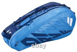Babolat Pure Drive 6 Pack Racquet Bag (Blue/Navy) Authorized Dealer with Warranty