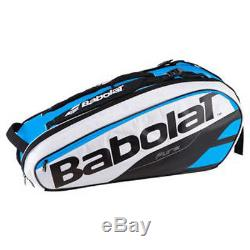 Babolat Pure Line Tennis Racquet Holder x6 Blue White NEW ADDITION Free Shipping