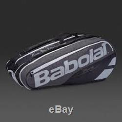 Babolat Pure Line Tennis Racquet Holder x9 Grey White NEW ADDITION Free Shipping