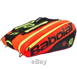 Babolat Pure RHx12 DECIMA Tennis Backpack Bag Red Racket Racquet Limited 751164