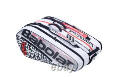 Babolat Pure Strike x12 Racquet Holder Tennis Bag Red and White