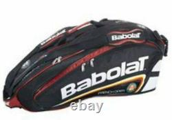 Babolat Racket Holder X6 Team Line French Open Tennis Bag