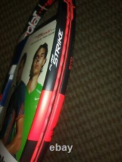 Brand New Babolat Pure Strike 100 4 1/4 Grip Tennis Racquet with Babolat Bag