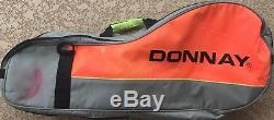 Donnay Pro Excluxive 6 Racquet Tennis Bag Vintage Andre Agassi