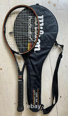 GREAT Wilson Pro Staff Original 6.0 85 Tennis Racket 4 1/4 with Cover / Bag