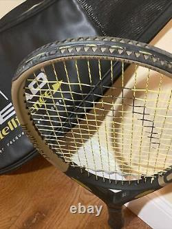 Head Intelligence i. S10 Tennis Racket Racquet 4 1/4 4 Made in Austria with bag