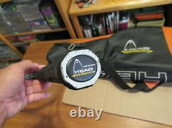 Head Intelligence iRadical iTour Series Tennis Racquet and Bag, - Grip Size 4 3/8
