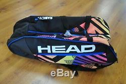 Head Radical Limited Tennis Bag 283757 80's Colorway NEW NWT 12 Racquet Monster