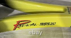 Head Radical Tour 260 Trisys System Grip 4 1/4 L 2 Agassi Racquet With Bag