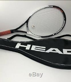 Head Speed Lite Graphene Touch Tennis Racket 4 0/8 Grip with Carry Bag