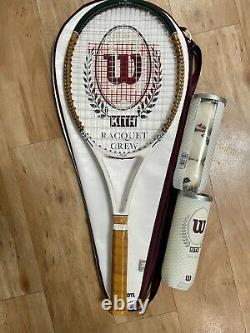 Kith for Wilson Pro Staff 97 Tennis Racquet Multi Collectors Brand New with Bag