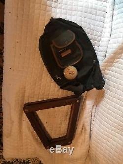 Lot of Vintage Golf Clubs Bag And Tennis Rackets Very Old