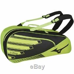 MIZUNO (Mizuno) tennis racket bag six purse soft tennis badminton 63JD8006 lime