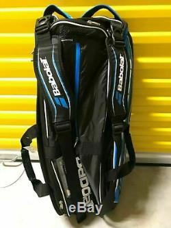 NEW Babolat Pure Drive 12 Pack Tennis Racket Bag Blue Black