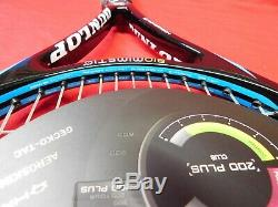 NEW Dunlop Biomimetic 200 Plus 4 3/8 Tennis Racquet withNew Bag FREE SHIPPING