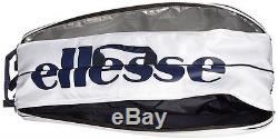 NEW Ellesse Racket Bag for 6 EAC 6520 W White from Japan