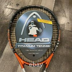 NEW RARE Head Ti. Radical OS 107 Andre Agassi 4 1/4 Grip Tennis Racquet With Bag