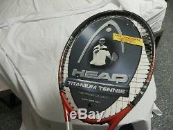 New Head Ti Radical Mid Plus 4 1/2 tennis Racket L5 with Bag Free Shipping