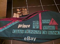 New Rare Vintage Prince Tennis Racket Bag Challenge Cup USA Open New With Tags