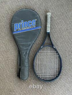 Prince CTS Thunderstick 110 Constant Taper Tennis Racquet 4 Grip with Case Bag