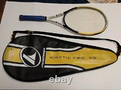 ProKennex Kinetic Pro 5G tennis racquet with matching bag