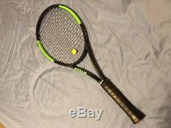 Used Wilson Blade 98 Countervail 16 x19 4 3/8 Tennis Racquet with Bag