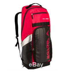 Victor Badminton Tennis Long Backpack Bag Racket Racquet Magenta BR8809D