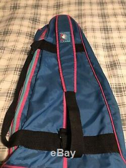 Vintage 80's Nike Andre Agassi Challenge Court Tennis Racket Bag VERY RARE