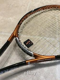 Volkl PB 9 Powerbridge Tennis Racket With Bag New String- Used Once RRP £189
