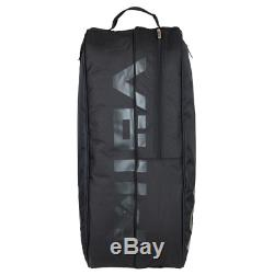 Volkl Tour Combi 6 Pack Tennis Racquet Bag Black and Stealth