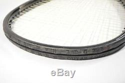WILSON SLEDGE HAMMER STRETCH 3.4 OS 135 OUTER LIMITS TENNIS RACQUET 3 3/8 With BAG
