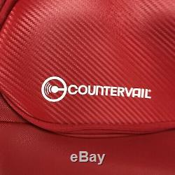 WILSON Vancouver Countervail 9 Pack Tennis Red Racket Bag Shoulder Straps NWOT