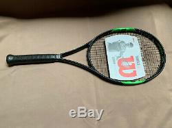 Wilson BLX Tour 103 Tennis Racket Head 4 1/4 Grip S/M with Bag BRAND NEW