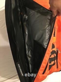 Wilson BURN 15 Racquet Molded Thermal Insulated Tennis Bag / Backpack Orange