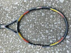 Wilson Pro Staff Classic 6.1 si 95 Sq In 4 1/2 L4 Tennis Racket With Bag READ