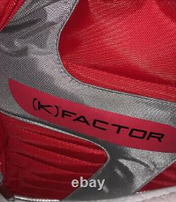 Wilson Pro Tour Tennis Racquet Bag K Factor Thermal Carrying Red 21-10-4 Inches