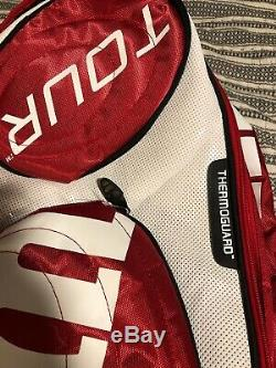 Wilson Tour Thermoguard Insulated Tennis Racket Bag Backpack Red FANTASTIC