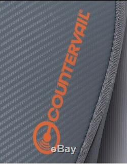 Wilson Vancouver 9 Racket Bag Limited Edition In Grey/Orange